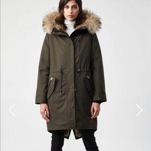 Mackage Rena Fur Lined Parka Coat